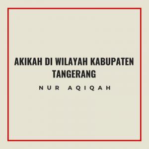 Info paket akikah di wilayah kabupaten tangerang