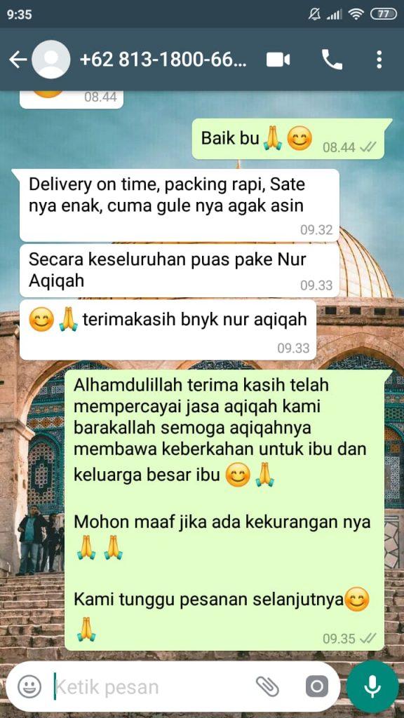 jasa catering aqiqah tangerang
