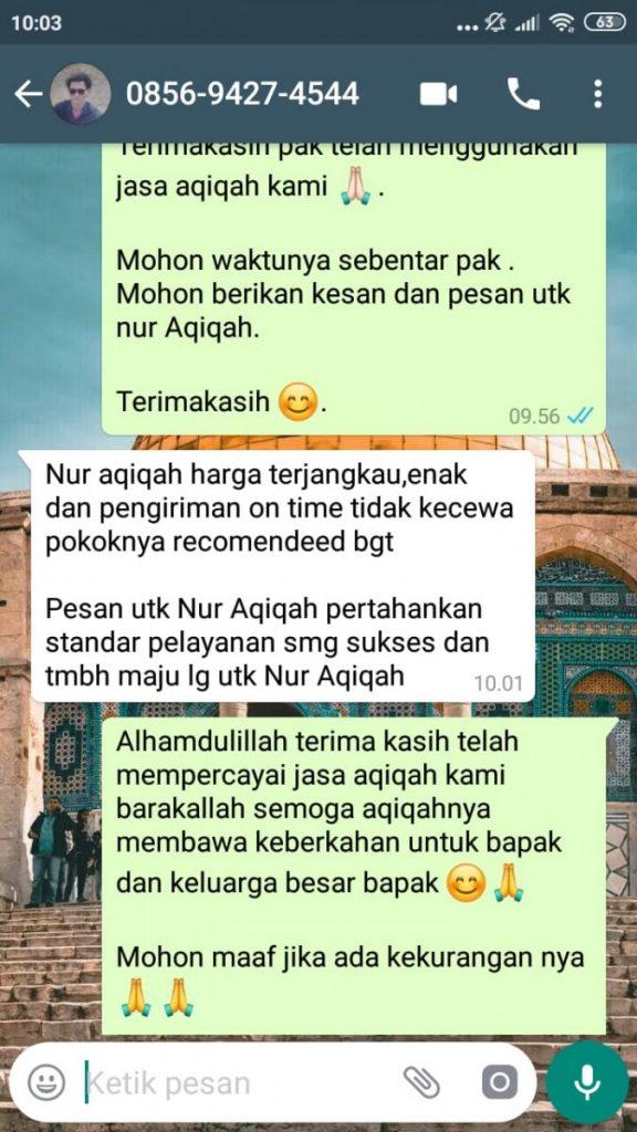 Aqiqah Murah di Tangerang