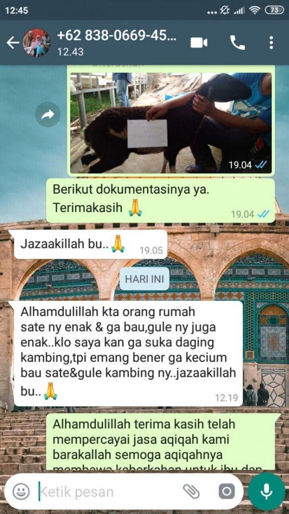 Catering Untuk Aqiqah di Kabupaten Tangerang