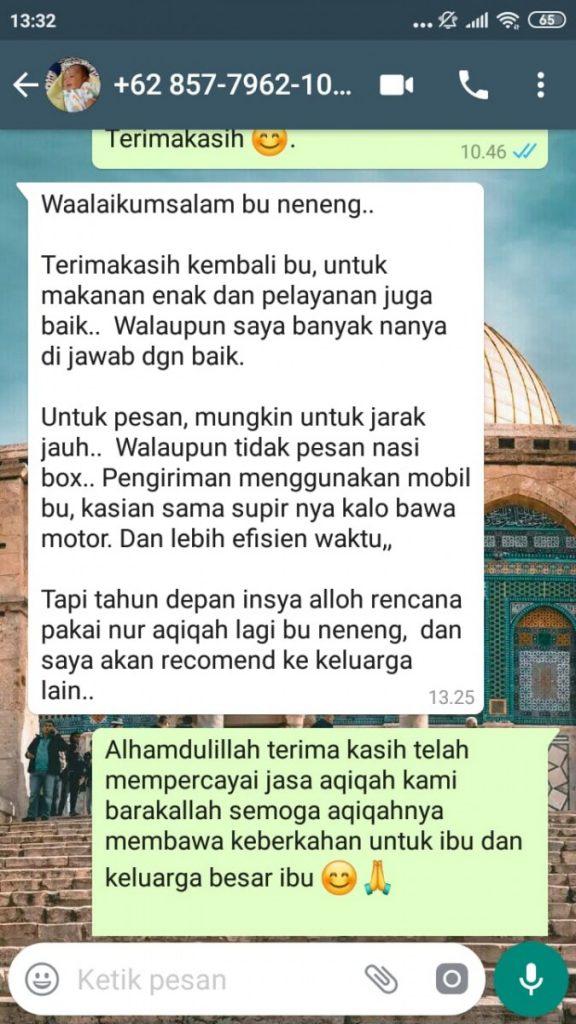 Harga Aqiqah Kabupaten Tangerang 2019