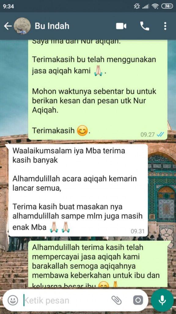 Paket Aqiqah Tangerang Murah