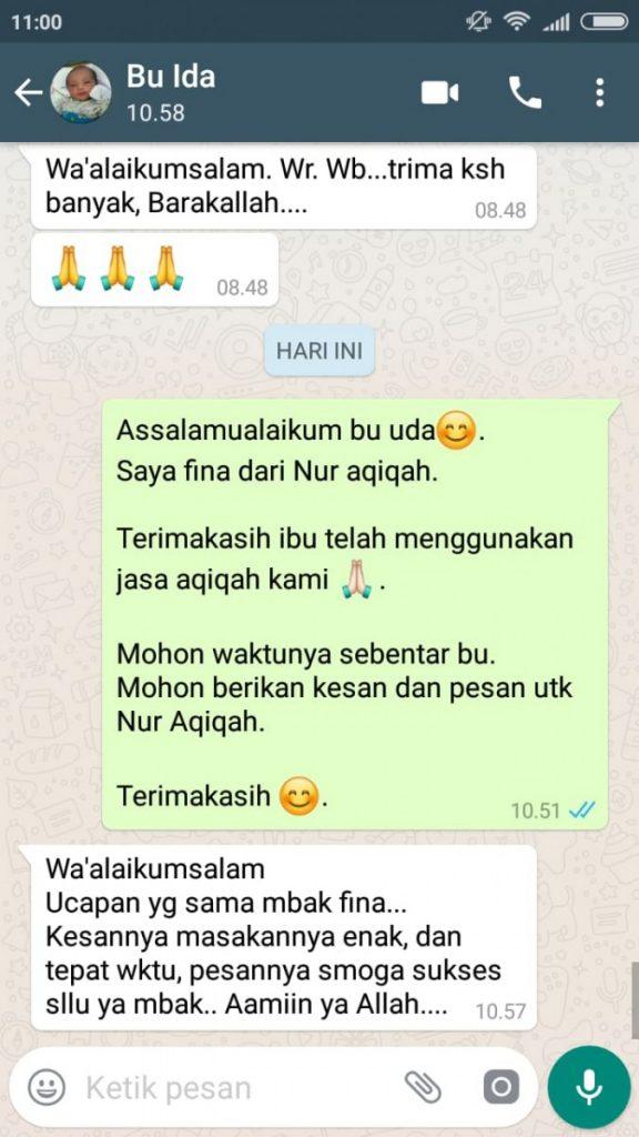 Aqiqah Tangerang Selatan 2019