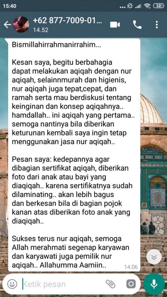 Aqiqah Murah Tangerang Selatan profesional