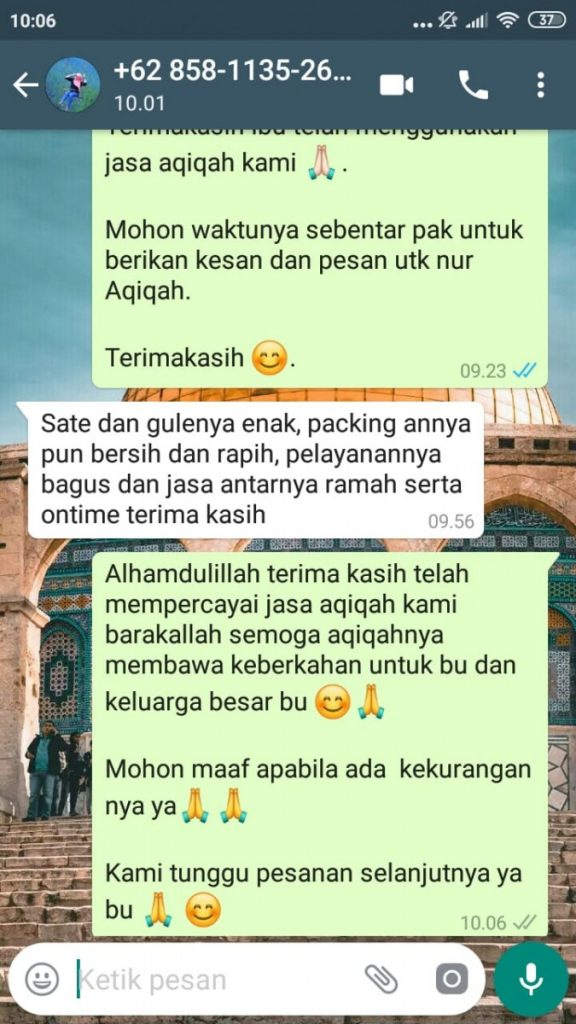 Aqiqah Siap Saji di Tangerang Selatan