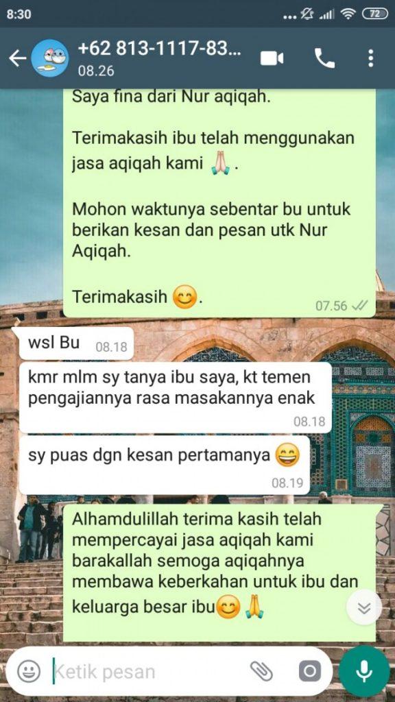 Catering Aqiqah Tangerang Selatan