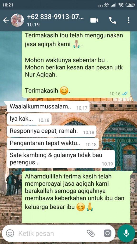 Paket Aqiqah Tangerang 2020