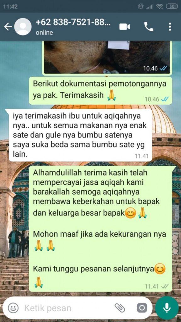 Harga Kambing Aqiqah Wilayah Tangerang Selatan