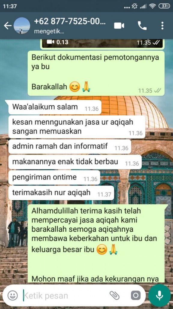 Harga Paket Aqiqah Tangerang 2020
