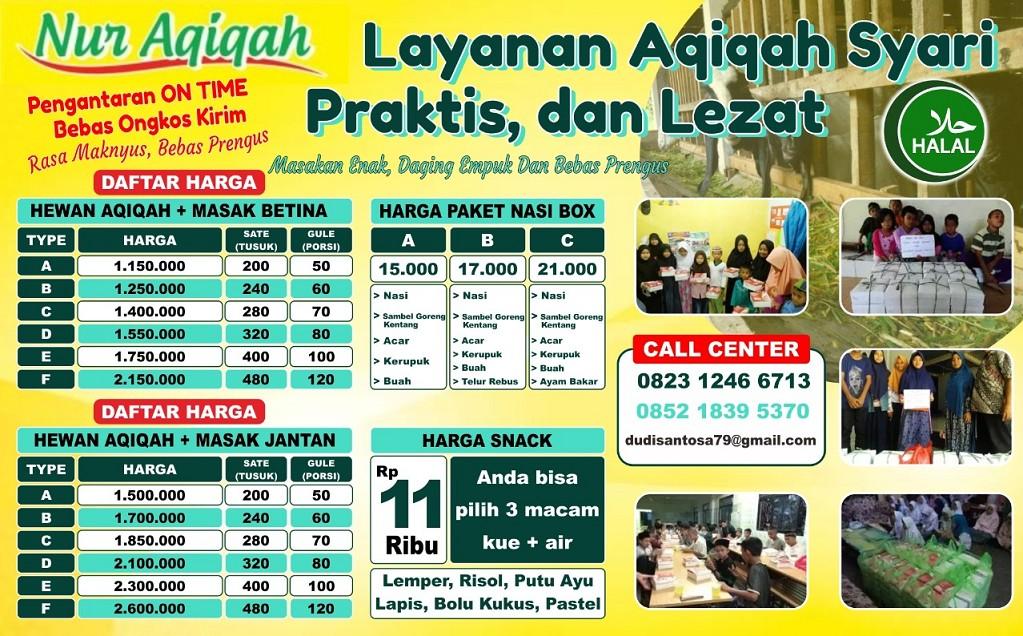 Paket Aqiqah Tangerang Selatan, Jasa Layanan & Jual Kambing Aqiqah Murah Terdekat | Nur Aqiqah